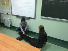 Galeria lekcja z fizjoterapeutą